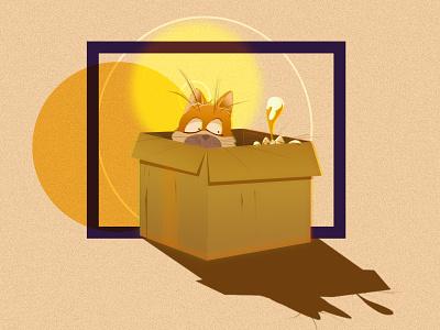 Catssss cat vector motion design character animation 2d illustration