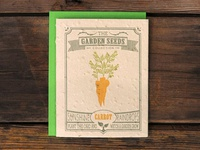 Garden Collection - Carrot