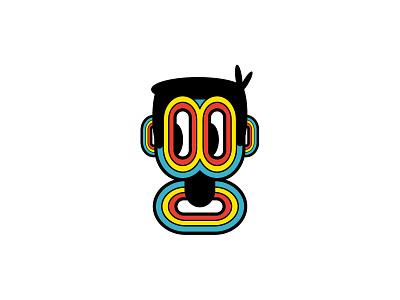 Melo Jr. concept art modular design identity design identity campaign velodrome psa illustration design character branding