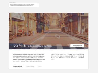 Daily UI 003_Landing Page