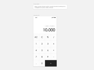 Daily UI 004_Calculator
