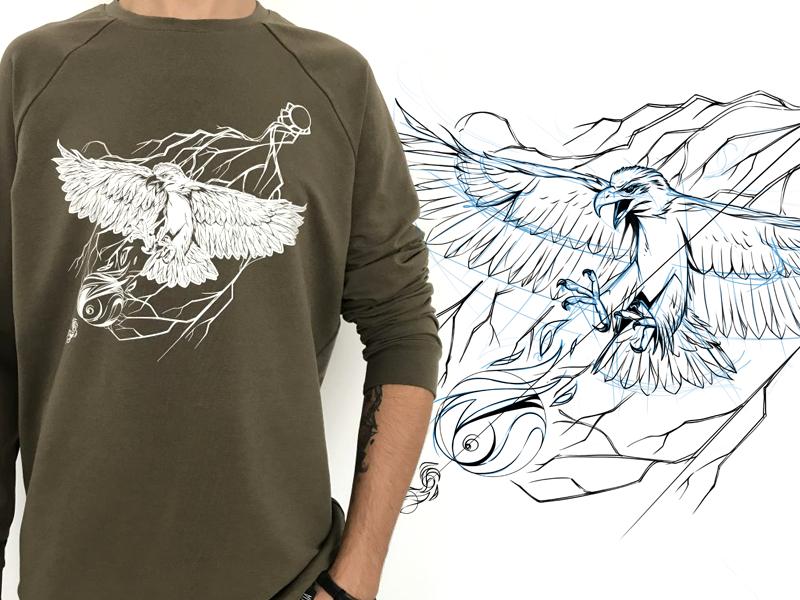 Eagle black sketch eagle game design character design character illustration drawing artwork fashion