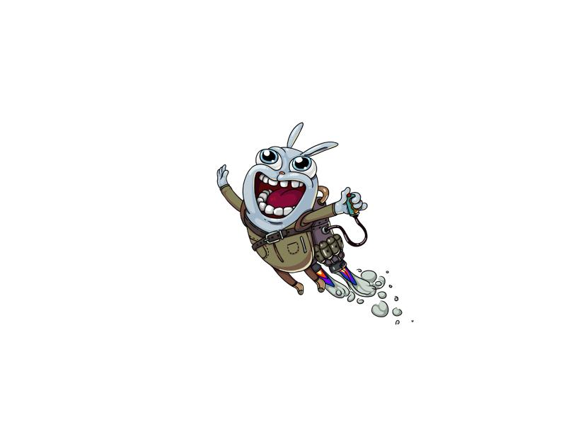Happ game artwork game art design steam punk cute gamedev icon logo concept art game design illustration character character design