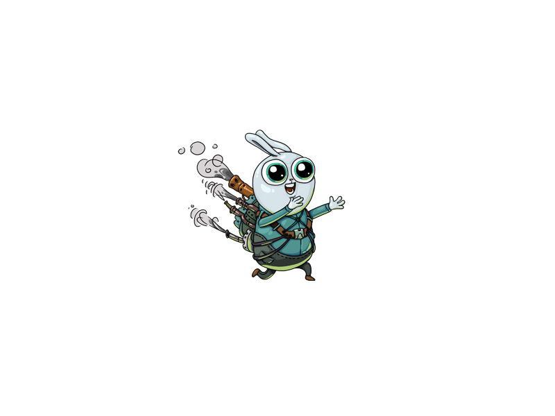 Bro steam punk cute artwork drawing gamedev game art icon logo concept art game design illustration character character design