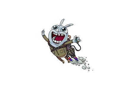 boombasteam III Happ ui mascot logo illustration gaming games gamedev game design game art game dude characters character design characterdesign character animation character branding