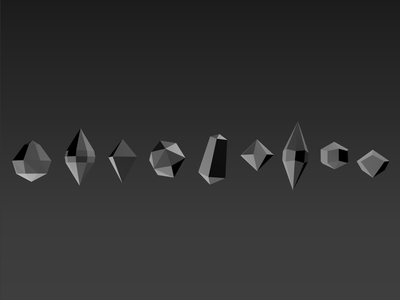 Geotap Lucre Game Prototype prototype shapes app 3d low poly gradients mobile game