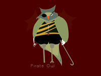 Pirate Owl: The most powerful owl in the world