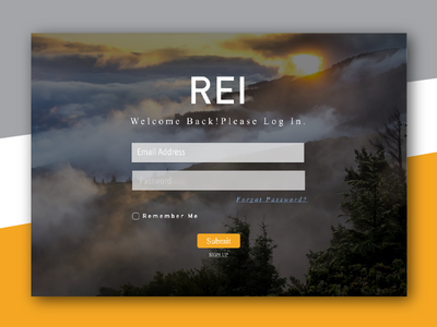 My student's first work: Daily UI #001:  Sign Up sign up 001 daily ui student work