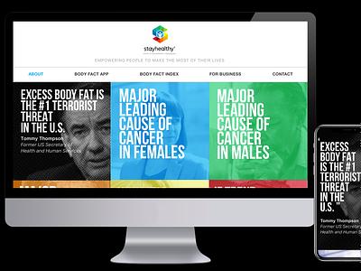 Stay Healthy responsive web design healthcare appdesign sketch webdesign