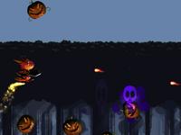 Spunky Dinosaur V.S. Spooky Pumpkins