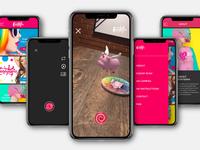 Candytopia App UX UI Design