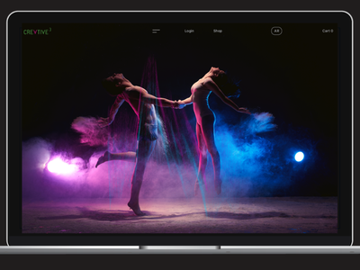 Creative 3 AR Concept App ux  ui ux marketing branding website app augmented reality