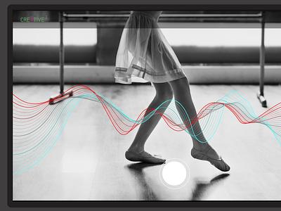 Creative 3 AR Concept App ux  ui ux app augmented reality