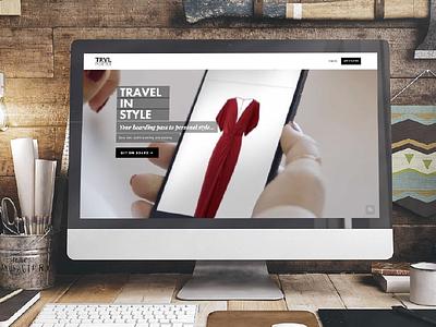 Trvl Porter Web Design web design rental fashion webdesign website ux  ui