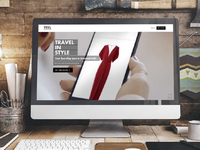 Trvl Porter Web Design web design rental fashion webdesign website ux  ui