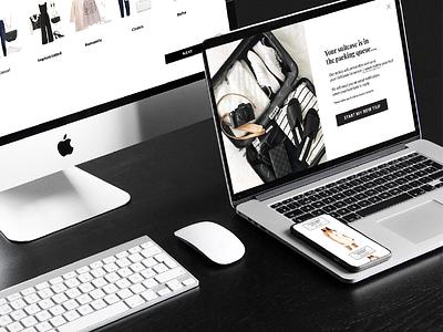 Trvl Porter Web Design 02 web design rental fashion webdesign ux  ui