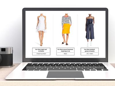 Trvl Porter Web Design fashion website design design ux  ui