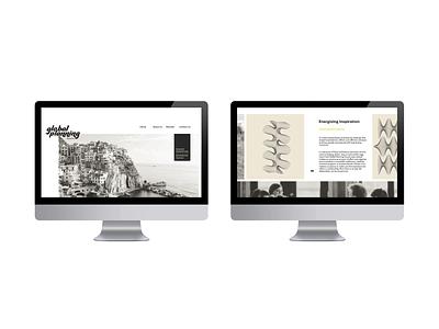 Website Inspo interactive bold minimal colour design ui framesbyams