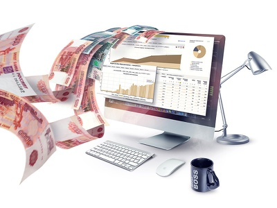 Imac workspace money imac