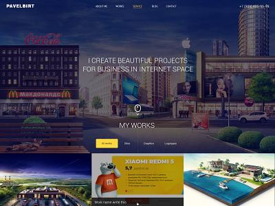 Portfolio site design portfolio web desgin design web site