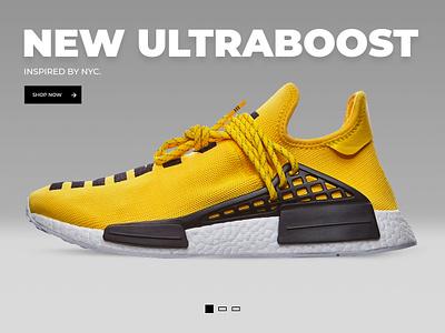 Adidas retushing design web web-design promo site promo page ui adidas