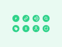 Drop Icon Set ⚡️
