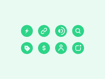Drop Icon Set ⚡️ ux ui mobile app solid stroke icons icon set icon