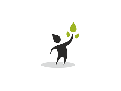 International Academy of Leadership academy logo leves leaf figure human leadership