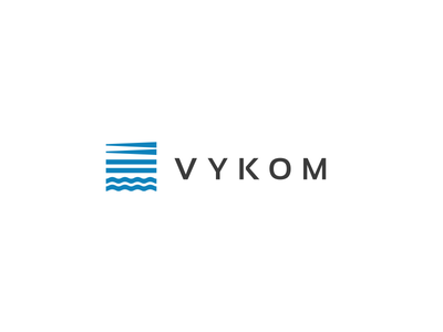 VYKOM symbol logo transportation road water sea logistics
