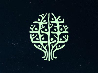 Oneness globe planet earth cosmos tree people oneness