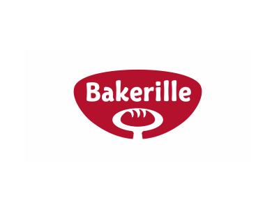 Bakerille space negative positive gestalt bread logo brand food