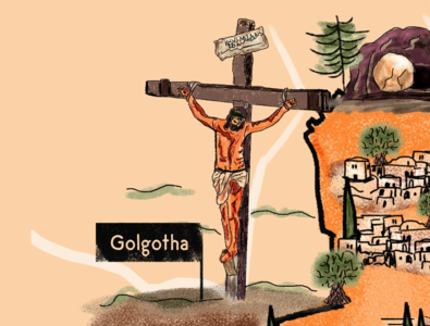 The Cross of Golgotha - Luke 23:33-43