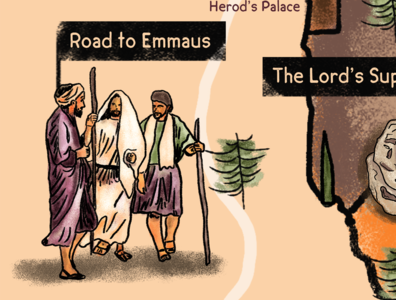 Road to Emmaus - Luke 24:13-35
