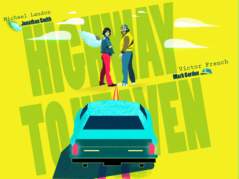 Highway To Heaven - 80s TV series by Creative Grace by Creative