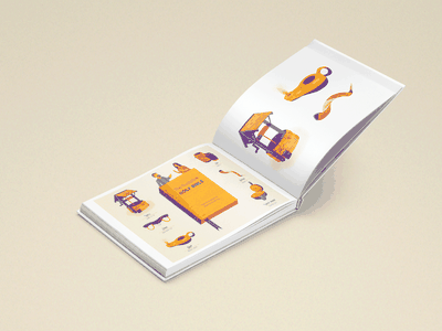 Bible Icons Project breadcrumbs lampas well icons bible illustration