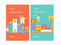 #DesafíoGoogleOrg Posters