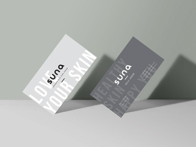 Suna Skin Care Business Cards design card business