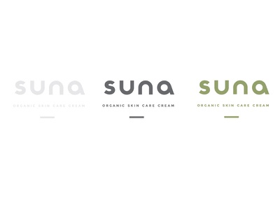 Suna Skin Care Logo design logo