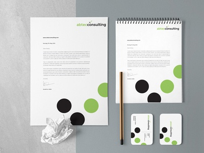 Abtec Consulting Agency branding