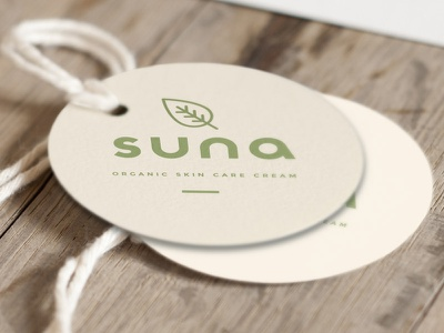 Suna Skin Care Labels branding