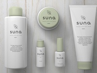 Suna Skin Care Packaging