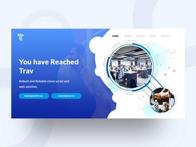 Trav Home page