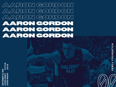 Aaron Gordon Family Foundation