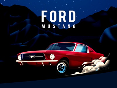 FORD MUSTAG-1967 carsharing ford vehicles ford moto mustag 1967 branding gradient vector illustration car design industrial design carillustration ford cars cars car ford mustag ford mustang