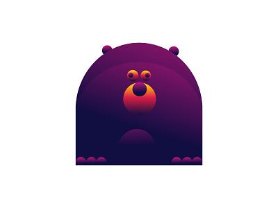 Bear design characterdesign bear character vector illustration