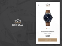Bobstay product screen