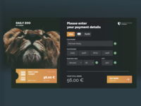 Credit Card Check Out Zoo Site