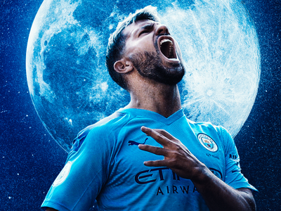 Manchester City - Wallpaper Wednesday - Aguero