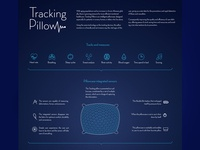 Tracking pillow poster