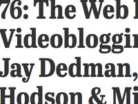 Bits of The Web Ahead